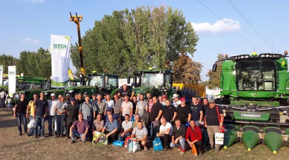 A Pro Agricultura Carpatika csapata a rendezvényen