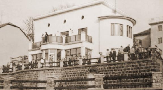 A felújított Bródy-villa
