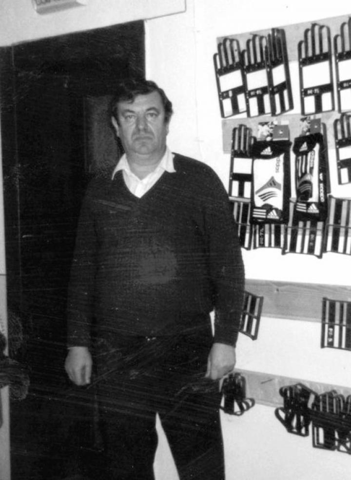 Benedek György, az egykori sikerkovács