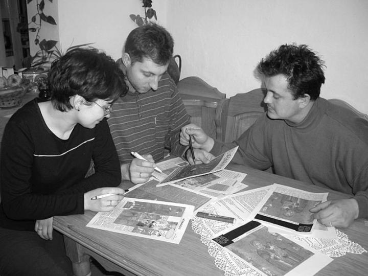 Marosi István és felesége, Marosi Anita, valamint Gorondi Albert