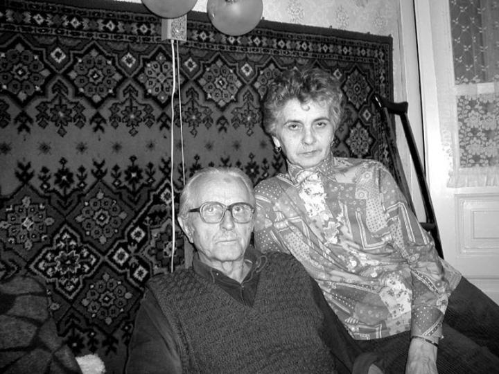 Dőr János és felesége, Mária