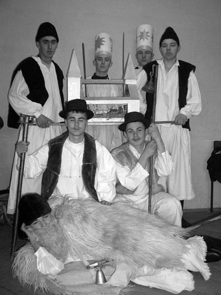 A salánki hagyományőrző csoport