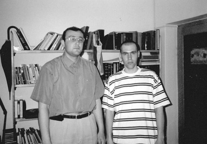 Hanykovics Leonárd és Sponták Róbert