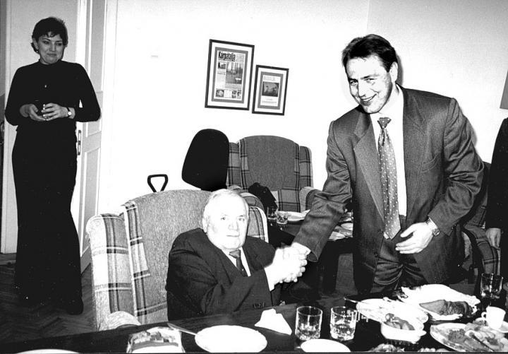 Fodó Sándor és Kovács Miklós