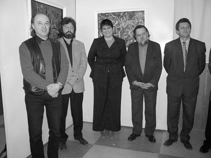Riskó György, Magyar László, dr. Orosz Ildikó, Benkő György, dr. Soós Kálmán