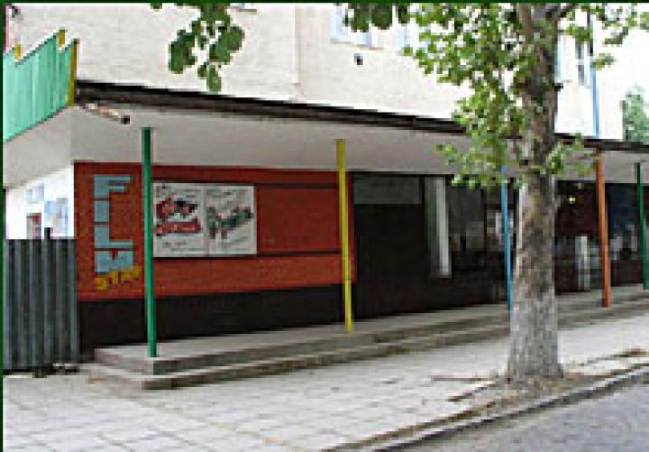 A beregszászi mozi épülete