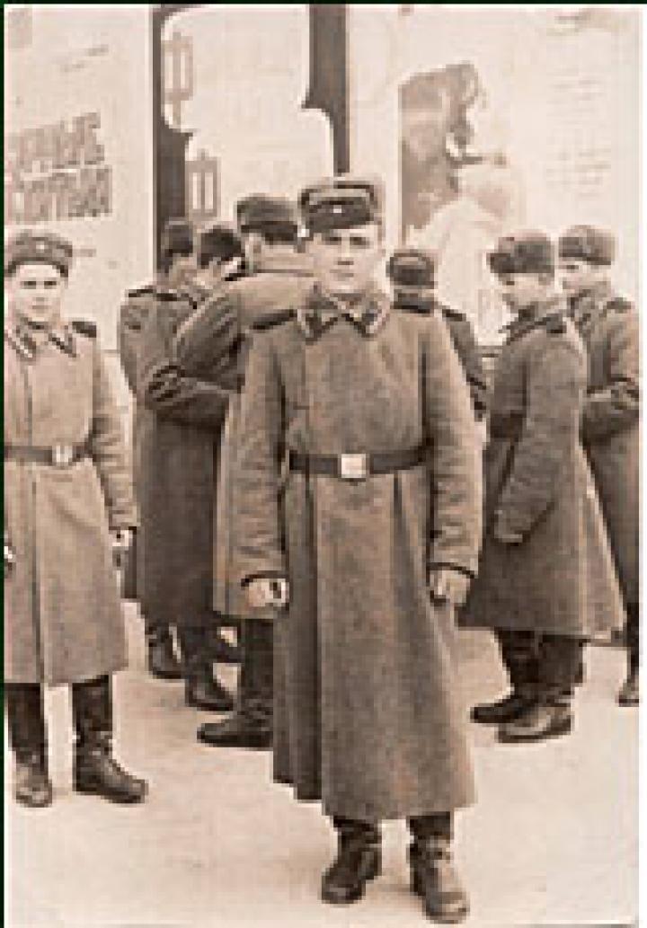 Id. Gerendely Béla – a szovjet hadsereg sorkatonája