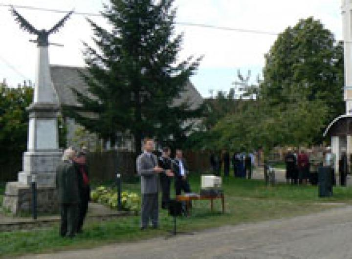 Kovács Miklós köszöntője