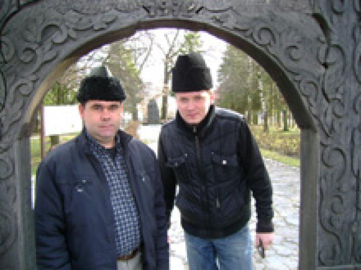 Terepen: Kovács Géza és K. Debreceni Mihály