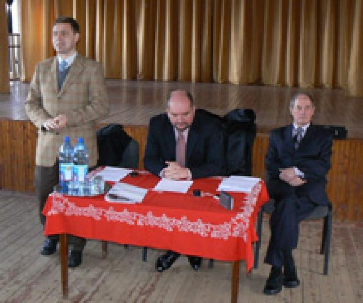 Kovács Miklós, Brenzovics László és Milován Sándor