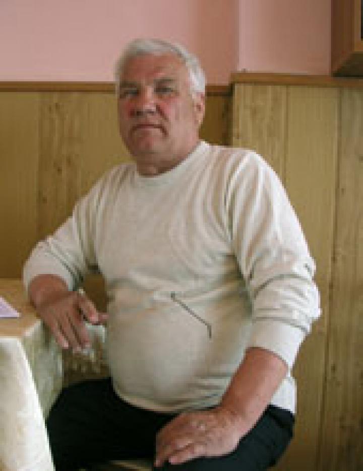 Francz András, a KMKSZ-alapszervezet elnöke