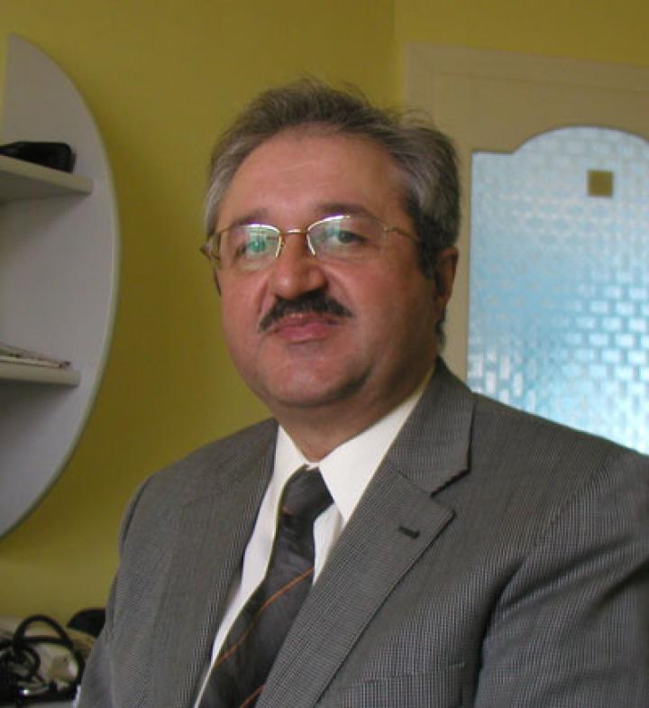 Dr. Vackó László, a Munkácsi Keresztyén Egészségügyi Központ orvosa