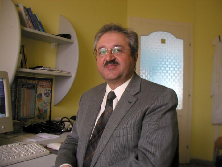 Dr. Vackó László belgyógyász, a Munkácsi Keresztyén Egészségügyi Központ főorvosa