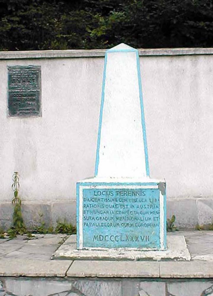 Az obeliszk Európa közepén