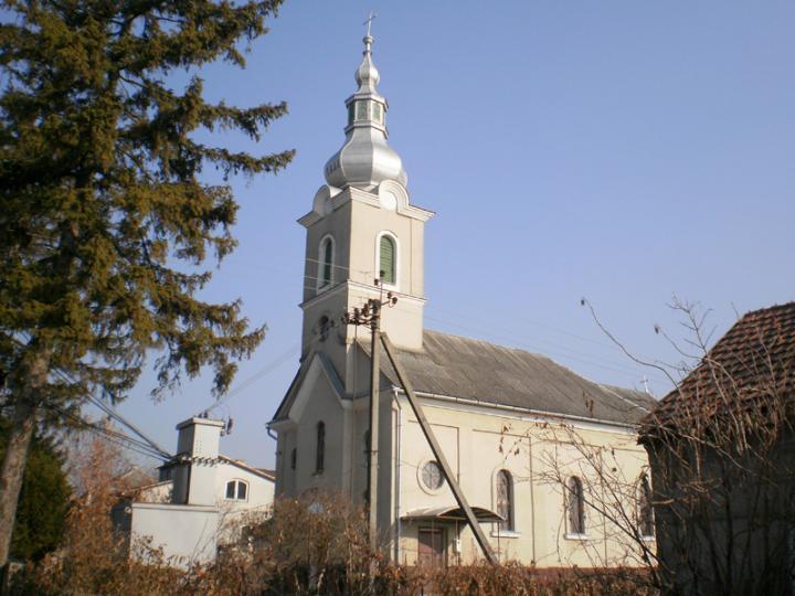 A római és a görög katolikusok által közösen használt templom