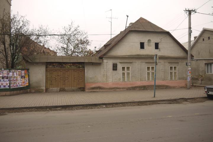 A doktor úr egykori beregszászi háza