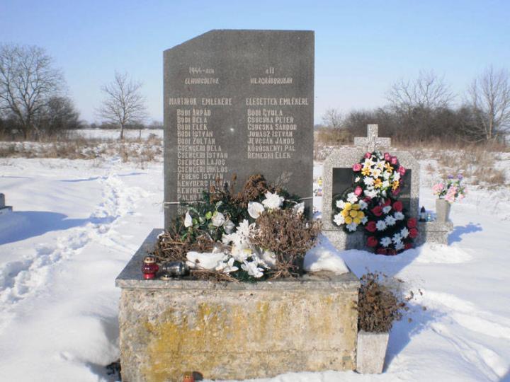 A II. világháború és a szovjet terror áldozatainak emlékműve
