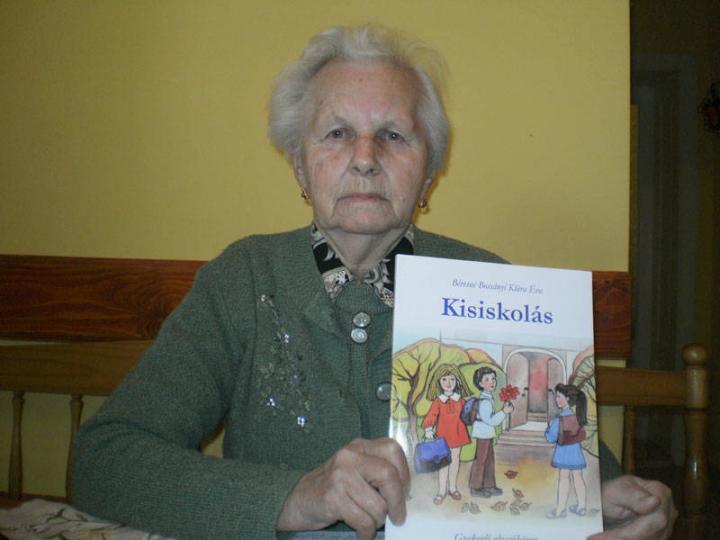 Béresné Bossányi Klára, a KMKSZ-alapszervezet titkára