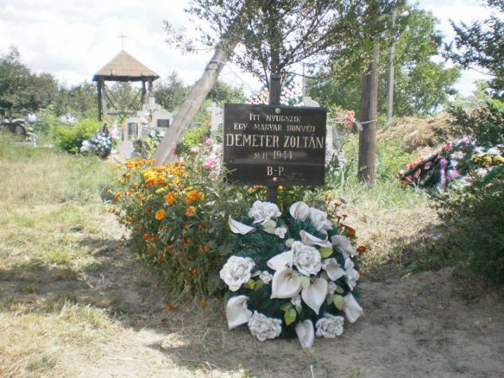 Demeter Zoltán magyar honvéd sírja