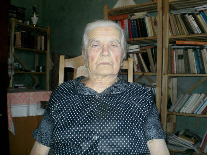 Jenei Erzsébet, a legidősebb magyar lakos