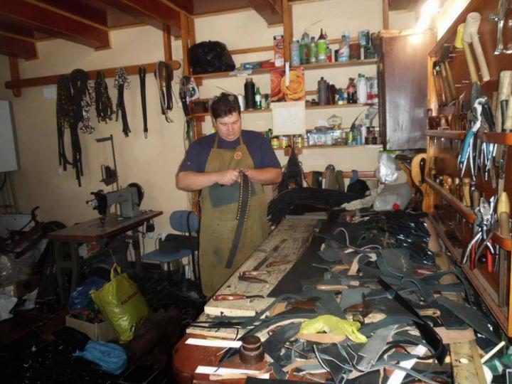 Petrusinec Vladimir munka közben