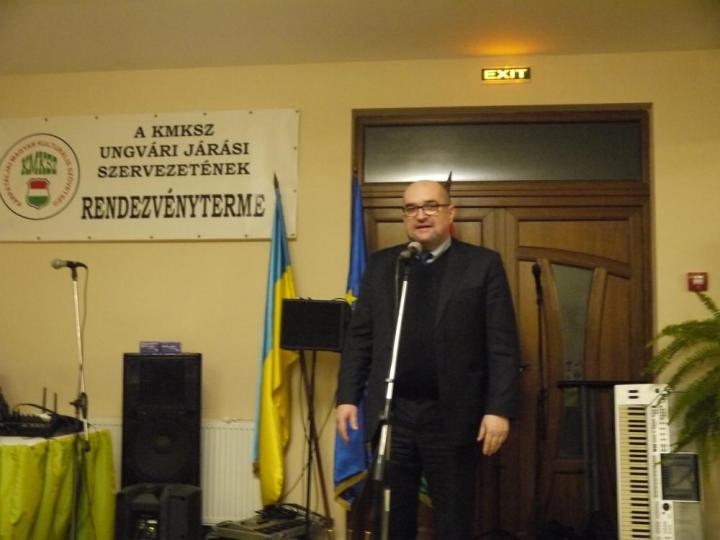 Brenzovics László, az ukrán parlament képviselője, a KMKSZ elnöke