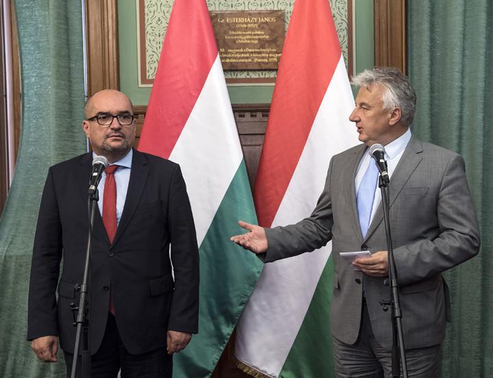 Brenzovics László és Semjén Zsolt