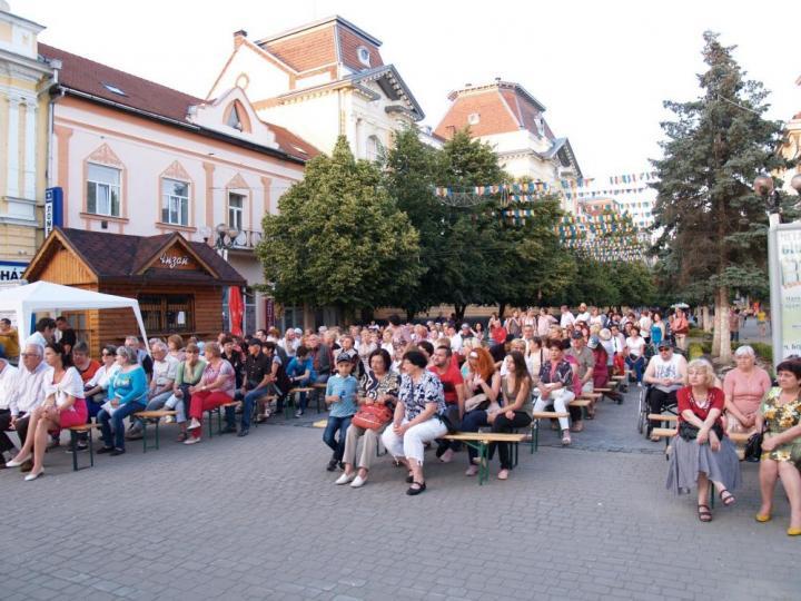 A koncert közönsége