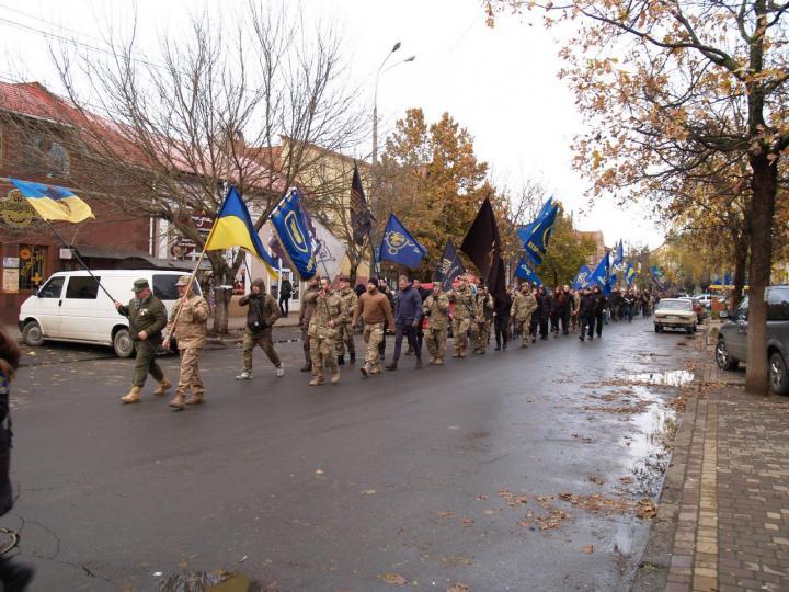 """""""Idegen, jegyezd meg, itt az ukrán a gazda!"""" – skandálták a nacionalisták"""