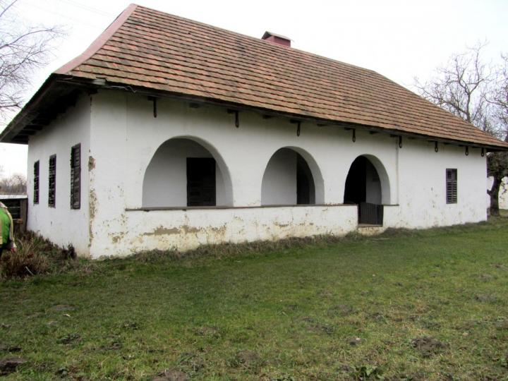 Biki József módos gazda háza