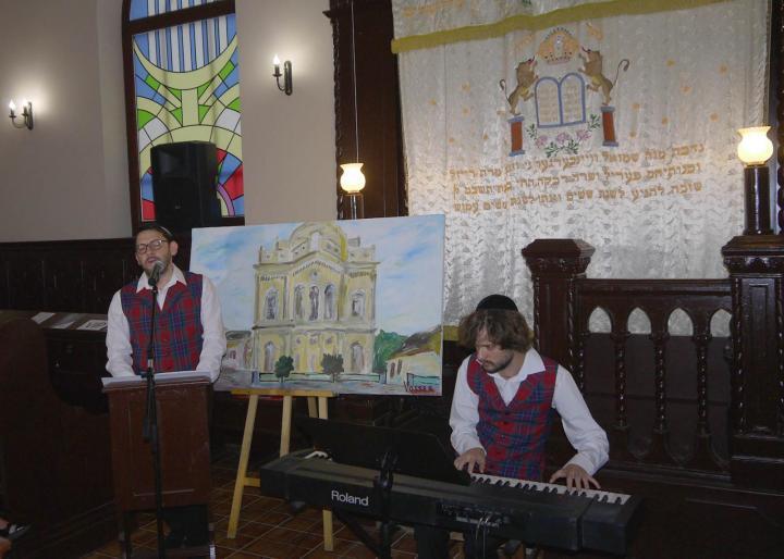 Jeruzsálem kedvesem... - koncertet adott Laczkó Vass Róbert színművész és Szép András zongoraművész
