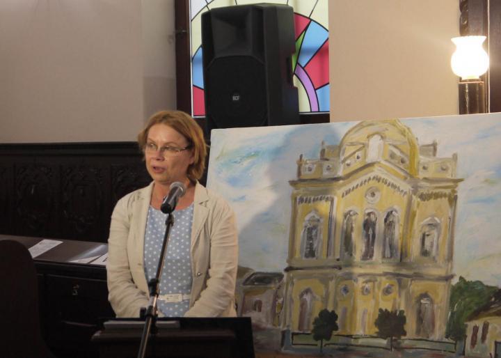 Deák Andrea, a Zsidó Napok főszervezője