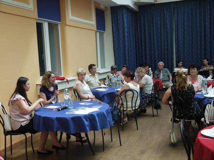 Komoróczy Ráhel Szonja előadása a kárpátaljai zsidóság történetéről, kultúrájáról, ízeiről