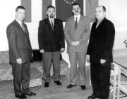 Felvételünkön (balról jobbra) Kovács Miklós, Szepesi István, Lupkovics György és Brenzovics László