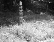 Kopjafa a szolyvai emlékparkban