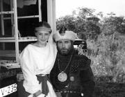 A színészsors ritka kegye: Franco Neroval a Honfoglalás című film forgatásán