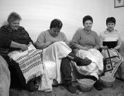 Balról jobbra: Nyomó Mária és a Pinte család: Diana, Magdolna és Erika