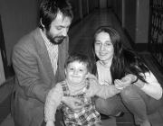 Kacsur Andrea családja körében