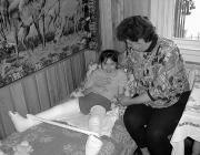 Lengyel Ilona és édesanyja