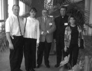 A konferencia kárpátaljai résztvevőinek egy csoportja
