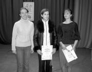 A nyertesek: Varga Katalin, Fodor Beáta és Fábián Beáta