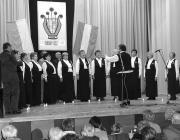 Az aknaszlatinai Őszirózsa Nyugdíjasklub kórusa
