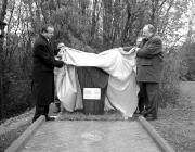 Persányi Miklós és Vitalij Leljavszkij leleplezik az emlékjelet