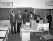 A számítástechnikai eszközök átadása az Eszenyi Középiskolában
