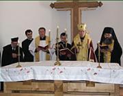 A kárpátaljai egyházak képviselői a kápolnaszentelésen