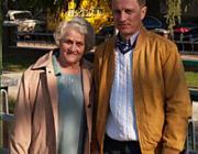 Varga Sándor édesanyjával