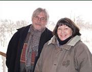 Illés Lajos és felesége Aknaszlatinán 2006 januárjában