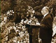 A szovjet titkosszolgálat által meggyilkolt Konovalecet a később ugyanerre a sorsra jutó Sztepan Bandera búcsúztatta
