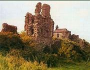 A nagyszőlősi Kankó-vár romjai