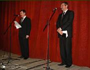 Az alkalom védnökei: dr. Oroszi Pál és dr. Vackó László